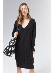 v neck dress 20 637 0201 10 days jurk 1012 black