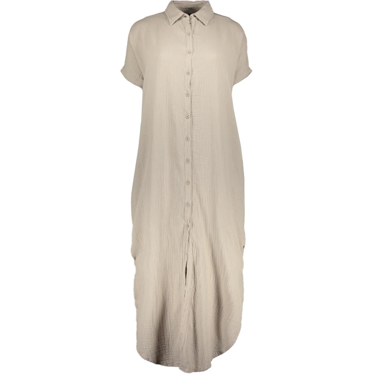 tunic dress waffle 20 308 0201 10 days tuniek clay