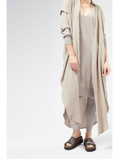 10 Days Tuniek TUNIC DRESS WAFFLE 20 308 0201 CLAY