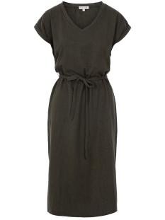 basic t-shirtjurk zusss jurk grafiet grijs