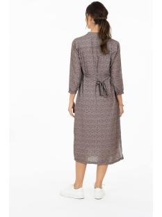 leuke lange jurk met print zusss jurk lila