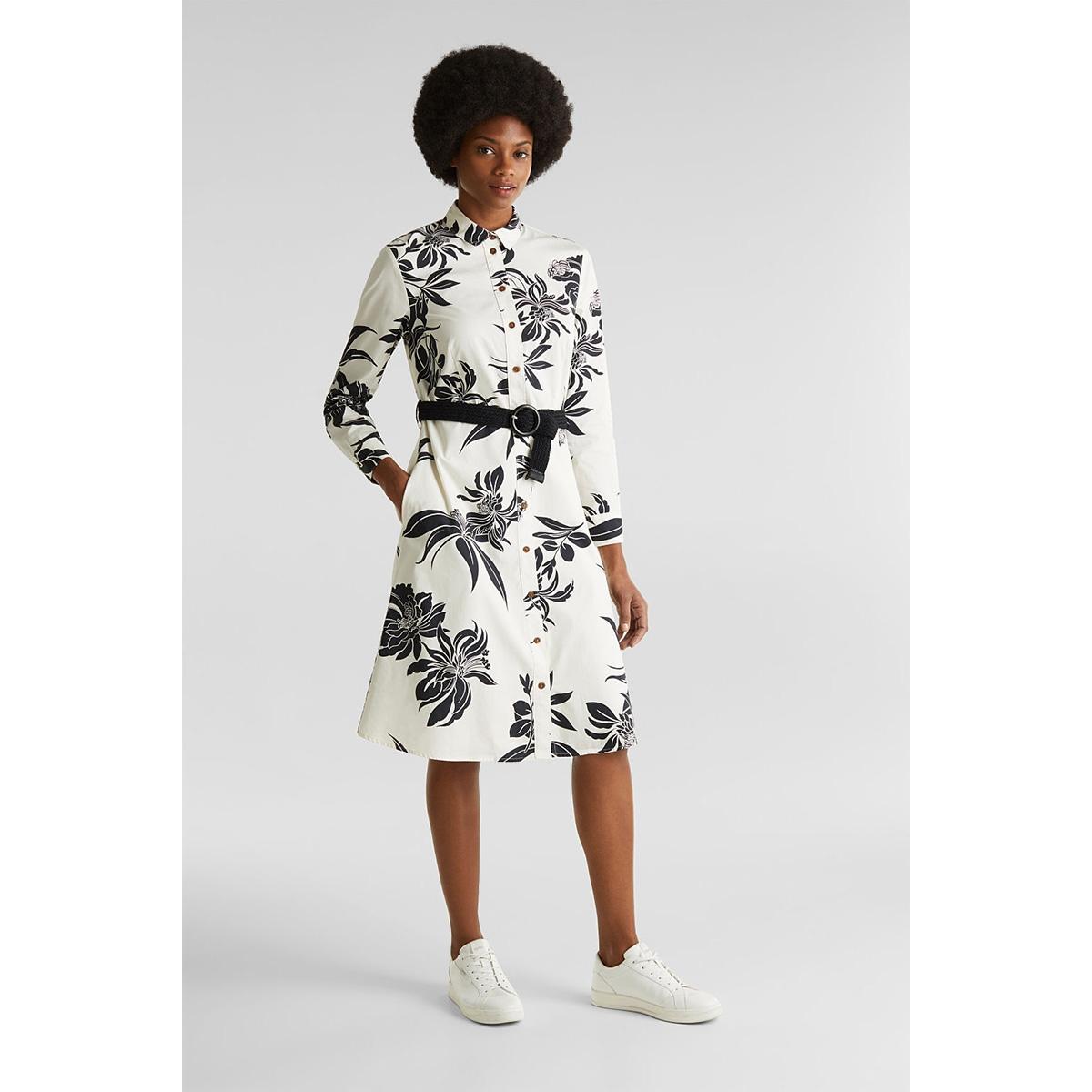 jurk met gevlochten ceintuur 030ee1e308 esprit jurk e113