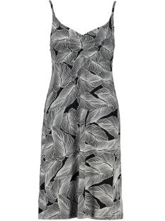 Geisha Jurk DRESS SPAGHETTI NOA 0704160 PR11BL/WH LEAVES