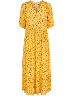 Pieces Jurk PCNIMMA 2/4 ANKLE DRESS 17101893 Artisans Gold/SPOT FLOWER