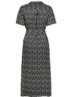 dress 07135 21 geisha jurk black/ecru dot