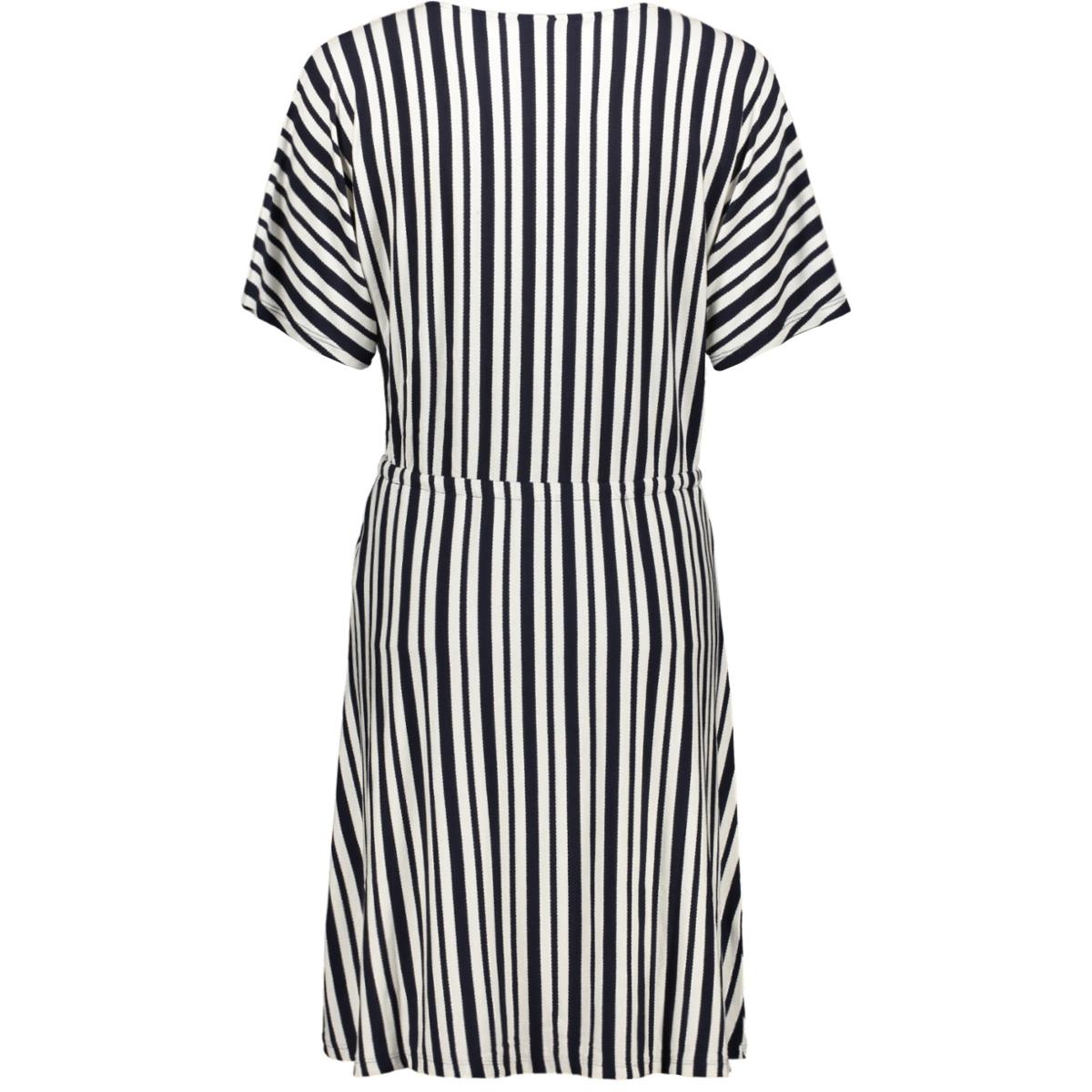 jdymelanie s/s dress jrs 15200606 jacqueline de yong jurk sky captain/cloud dancer
