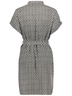 vmsimply easy s/s shirt dress wvn g 10227837 vero moda jurk black/felicia