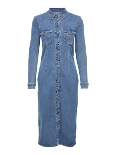 Jacqueline de Yong Jurk JDYNEW JUICY LONG DENIM DRESS BOX D 15189323 Medium Blue Denim