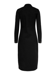 jdynew juicy long denim dress box d 15189323 jacqueline de yong jurk black  denim