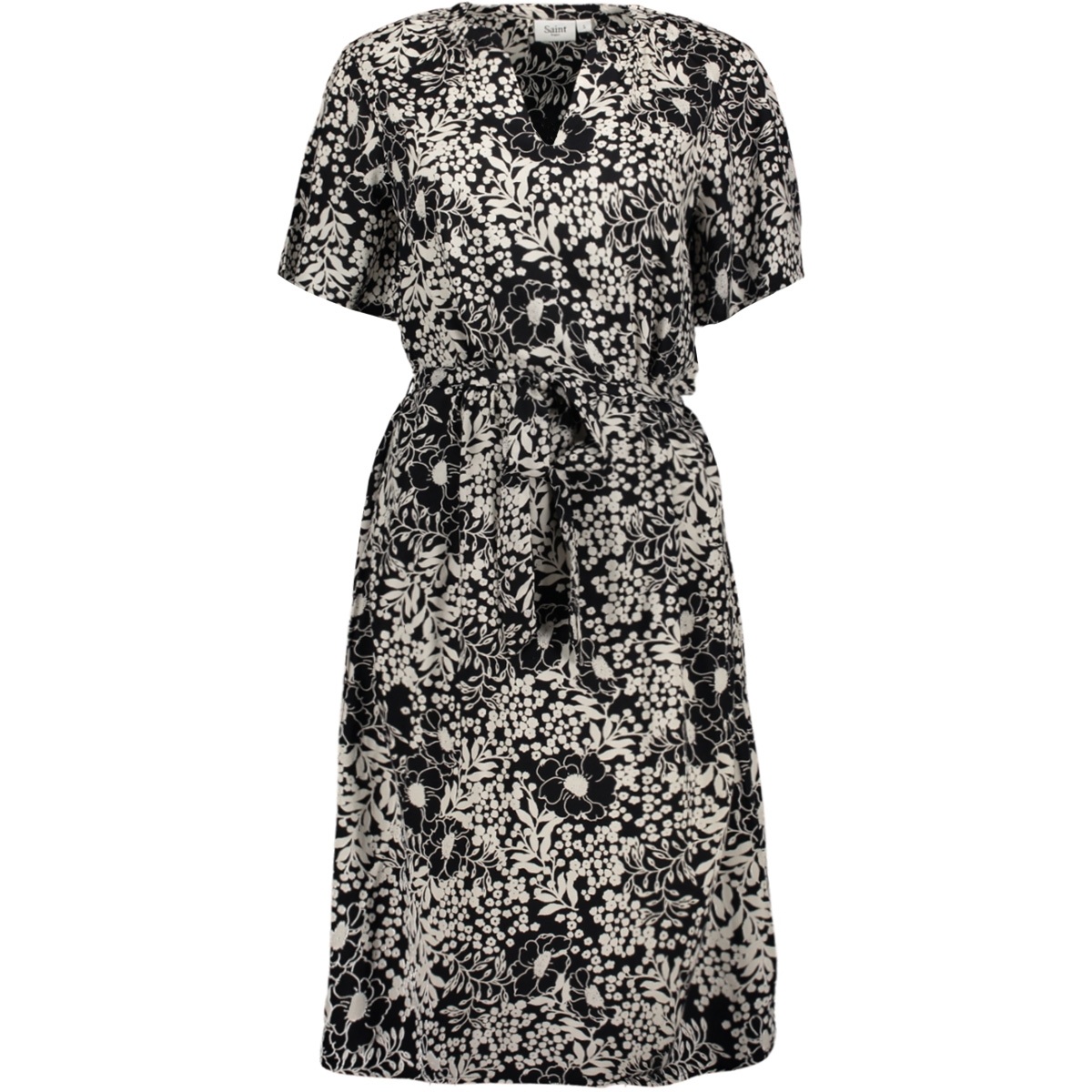louisasz dress 30510107 saint tropez jurk glam flower black 600054