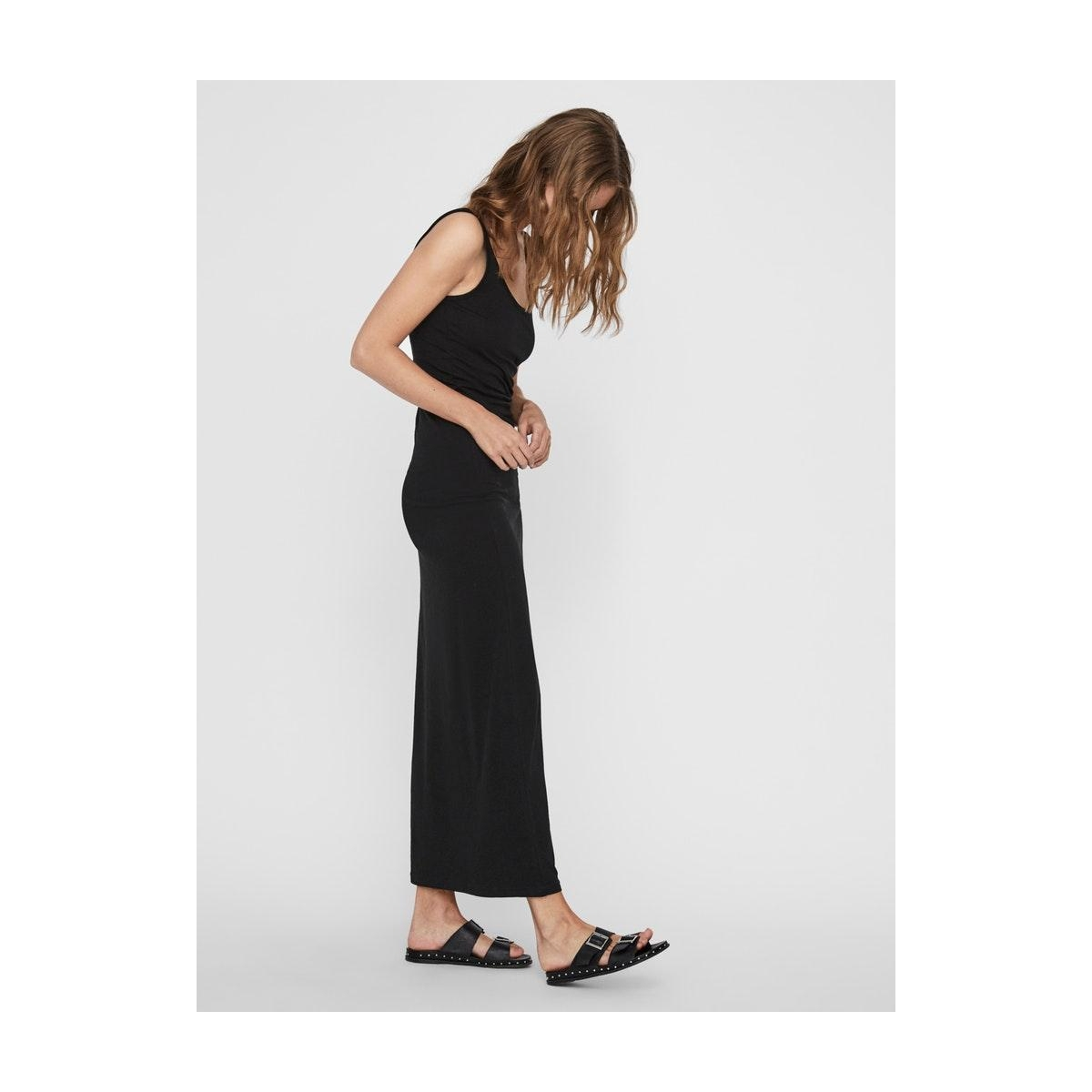 vmnanna sl ancle dress color 10233347 vero moda jurk black