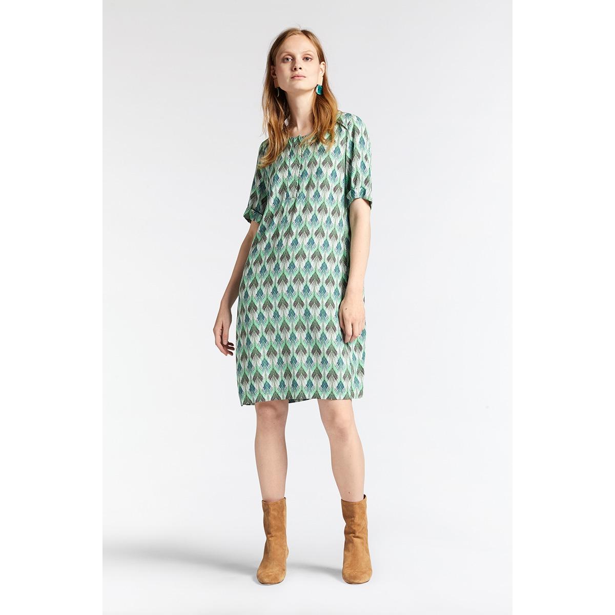 jurk met all over print 23001702 sandwich jurk 50012