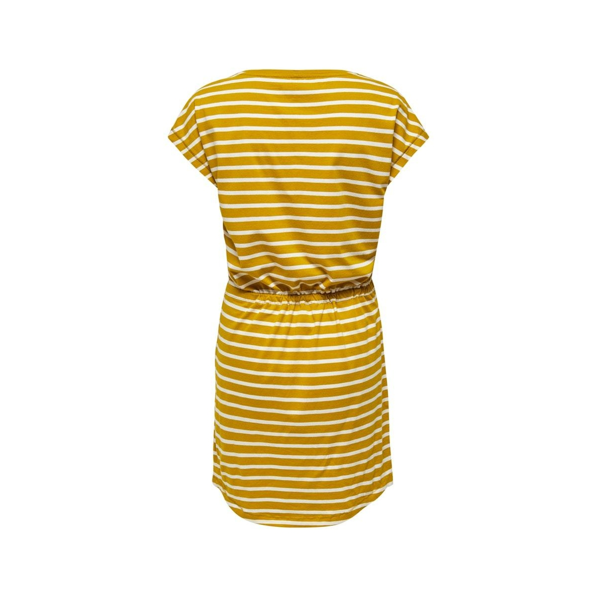 onlmay life s/s dress noos 15153021 only jurk mango mojito/thin strip