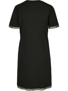 ladies boxy lace hem tee tb3411 urban classics jurk black