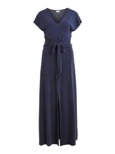 Vila Jurk VILOLANA S/S MAXI DRESS 14056923 Navy Blazer