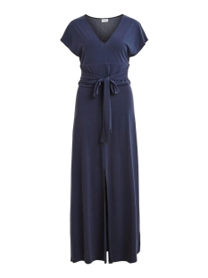 vilolana s/s maxi dress 14056923 vila jurk navy blazer