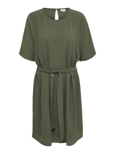 jdyamanda 2/4 belt dress wvn noos 15190690 jacqueline de yong jurk kalamata