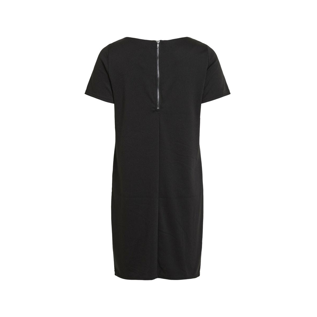 vitinny new s/s dress - fav 14044396 vila jurk black