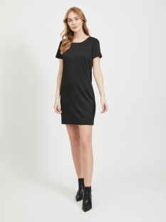 Vila Jurk VITINNY NEW S/S DRESS - FAV 14044396 Black