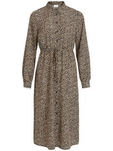 Vila Jurk VIULINE L/S SHIRT DRESS /RX 14061184 Black