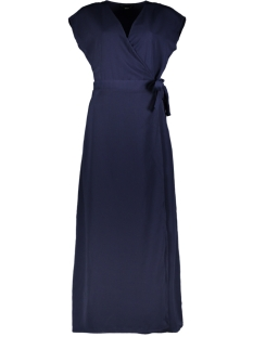Only Jurk ONLMINA S/S ANCLE DRESS WVN 15202591 Night Sky