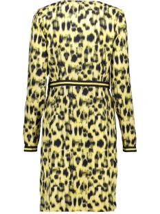 aop dress 97080 geisha jurk yellow combi