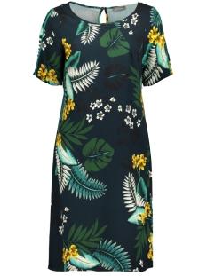 aop flower dress 97099 geisha jurk navy