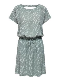 Only Jurk ONLMARIANA MYRINA S/S DET DRESS NOO 15178544 Chinois Green/BIG KARO