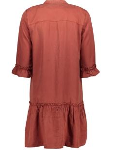 nmsophie endi frill dress bg 27011293 noisy may jurk burnt henna
