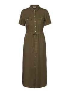 nmcersei s/s endi button dress bg 27011292 noisy may jurk olive night