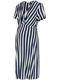 Mama-Licious Positie jurk MLNEWBECKY TESS S/S JERSEY ABK DRES 20011226 Navy  Blazer