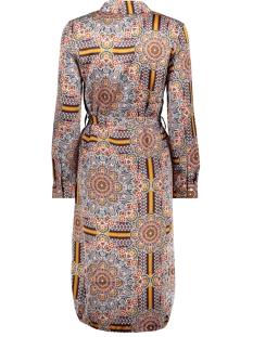 bjamelia l/s shirt dress pb7 23032311 object jurk gardenia aop: multi color