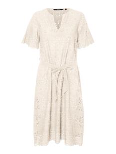 vmkaroline ls calf dress wvn 10227858 vero moda jurk birch