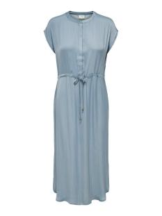 Jacqueline de Yong Jurk JDYSHEELA S/S LONG SHIRT DRESS WVN 15200711 Faded Denim