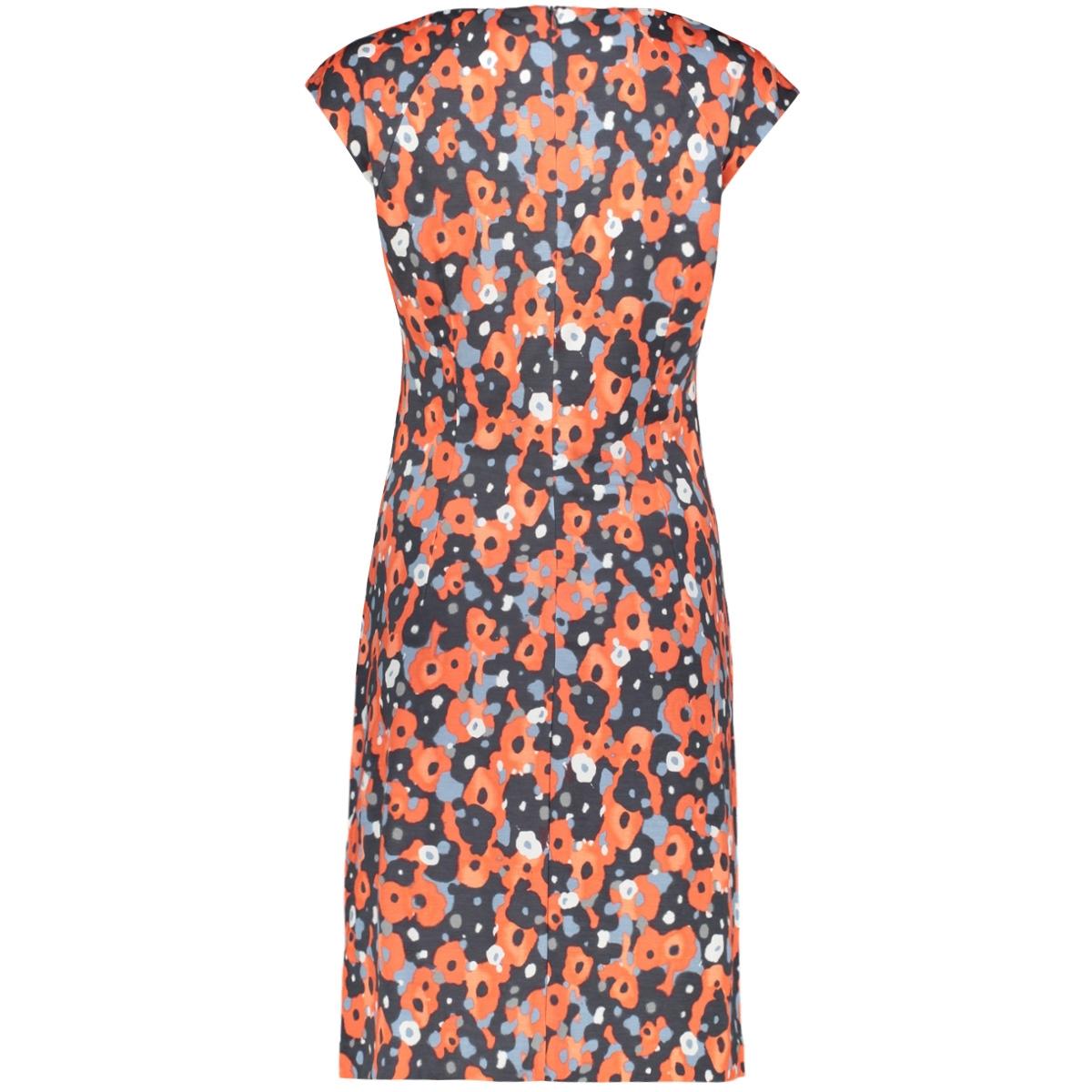 jurk met aquarel bloemenprint 23001716 sandwich jurk 20139