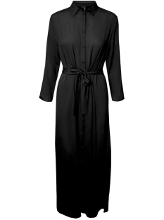 Vero Moda Jurk VMATHEN 7/8 ANKLE SHIRT DRESS VIP 10232448 Black