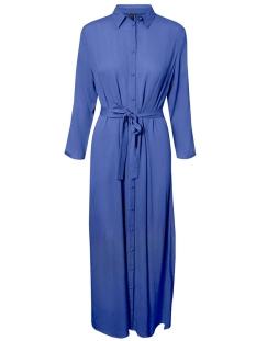 Vero Moda Jurk VMATHEN 7/8 ANKLE SHIRT DRESS VIP 10232448 Baja Blue