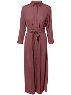 Vero Moda Jurk VMATHEN 7/8 ANKLE SHIRT DRESS VIP 10232448 Rose Brown