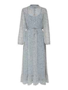 Only Jurk ONLLUCIA DITZY LONG L/S DRESS WVN 15176998 FADED DENIM