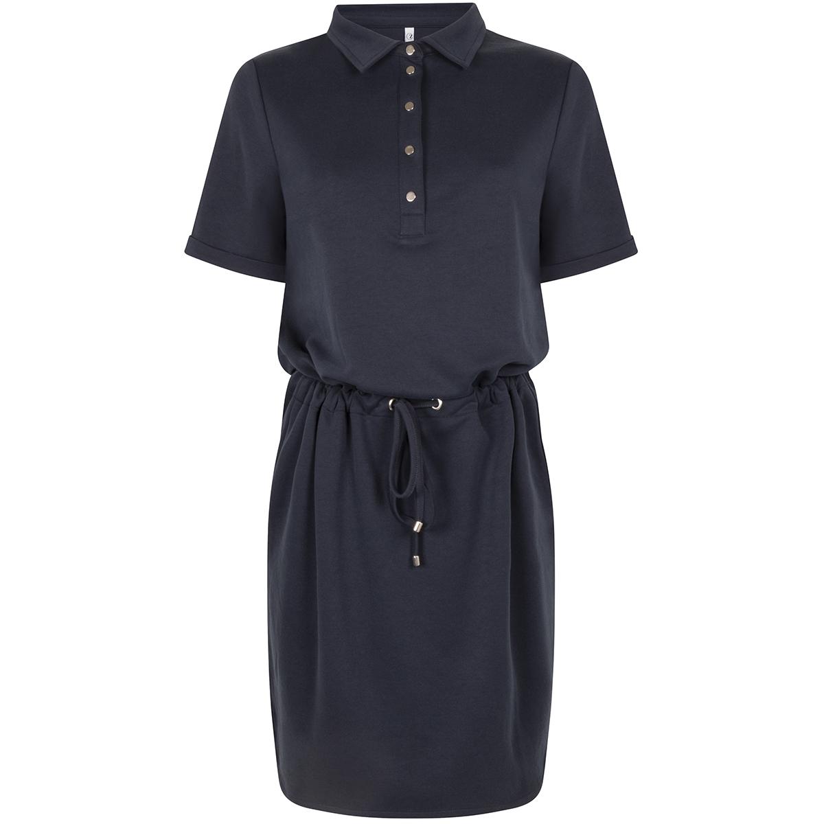 solar polo dress 202 zoso jurk navy