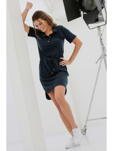 Zoso Jurk SOLAR POLO DRESS 202 NAVY