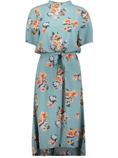 Jacqueline de Yong Jurk JDYPIPER 2/4 HIGHNECK DRESS WVN EXP 15169646 Chinois Green