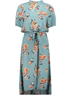 jdypiper 2/4 highneck dress wvn exp 15169646 jacqueline de yong jurk chinois green