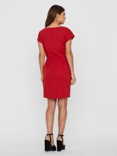 vmapril ss short dress ga color 10213298 vero moda jurk goji berry