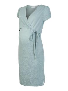 Mama-Licious Positie jurk MLASIA TESS CAP JERSEY ABK DRESS 2F 20011254 Green Milieu