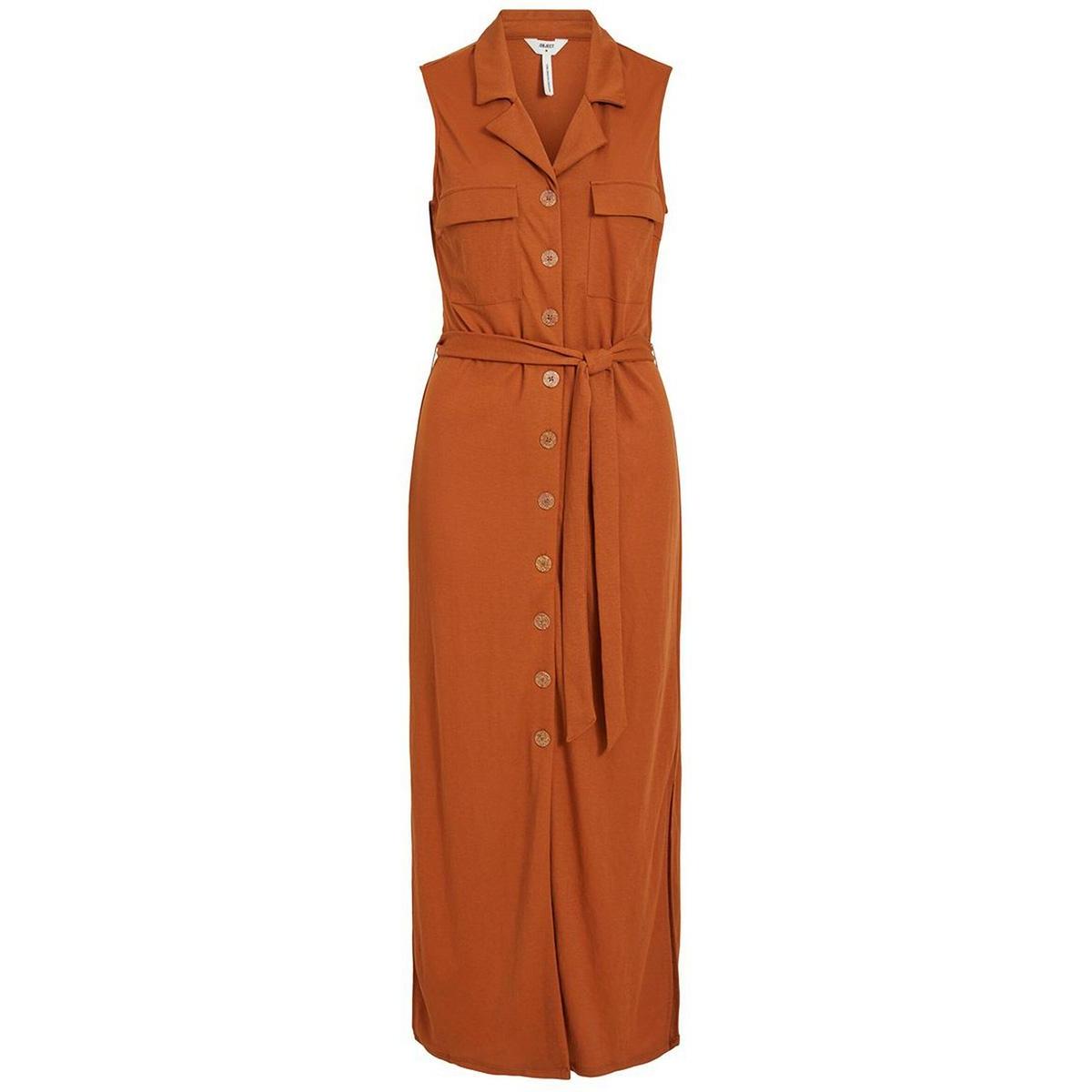 objcorine s/l dress 109 23032648 object jurk sugar almond