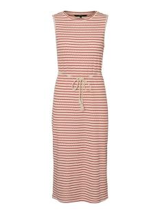 Vero Moda Jurk VMOYA SL CALF DRESS JRS GA 10230555 Birch/AURORA RED