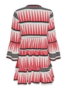 onllucca athena 3/4 dress wvn 15204727 only jurk white/graphic 3