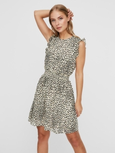 Vero Moda Jurk VMPENNY S/L SHORT DRESS WVN 10230691 Birch/PENNY