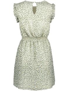 vmpenny s/l short dress wvn 10230691 vero moda jurk laurel wreath/penny